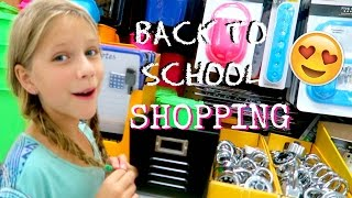 Download Back to School SHOPPING | School Supplies for Homeschool | Annie & Hope best friends Video