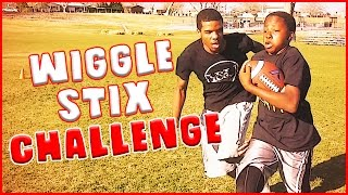 Download THE WIGGLE STIX CHALLENGE REMATCH - IRL Football Challenge Video
