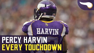 Download Every Touchdown Percy Harvin scored with the Vikings Video