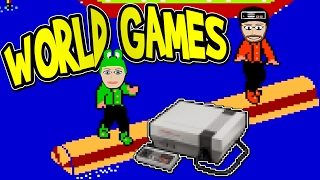 Download World Games NES Darby and Lauralee Play Video