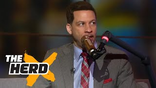 Download Chris Broussard on Lonzo Ball's draft stock, LeBron sitting out in L.A. | THE HERD Video