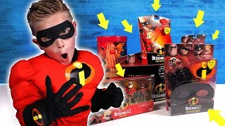 Download INCREDIBLES 2 Movie Gear Test & Toys Review for Kids! Video