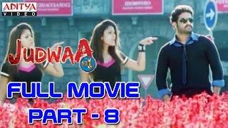 Download Judwa No1 Hindi Movie Part 8/11 Jr.NTR, Nayanatara, Sheela Video