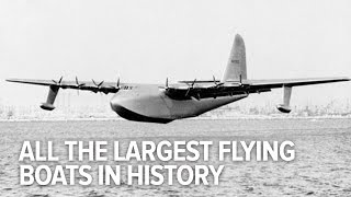 Download All The Largest Flying Boats In History Video
