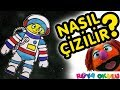 Download Astronot Nasıl Çizilir? - Kozmonot - Uzay insanı - Çocuklar İçin Resim Çizme - RÜYA OKULU Video