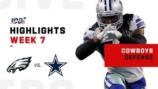 Download Cowboys Defense Crushes Eagles   NFL 2019 Highlights Video