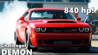 Download 2018 Dodge Challenger Demon Driving, Exhaust Sound, Walkaround Video