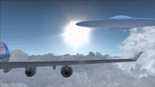 Download Air Force One's encounter of the third kind - an FSX movie Video