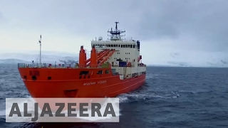 Download Antarctica expedition surveys volcanic islands Video