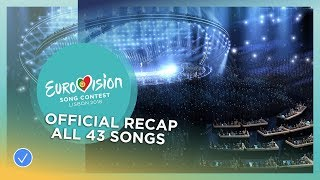 Download OFFICIAL RECAP: All the 43 songs of the 2018 Eurovision Song Contest Video