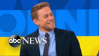 Download Charlie Hunnam discusses his role in 'King Arthur: Legend of the Sword' Video
