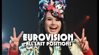 Download Eurovision All Last Positions (1957 - 2018) Video