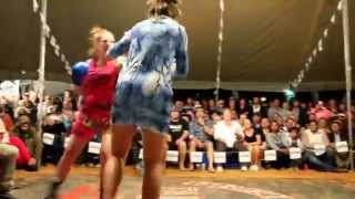 Download Four women outback tent fight Australia - Birdsville 2015 Video