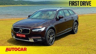 Download Volvo V90 Cross Country | First Drive | Autocar India Video