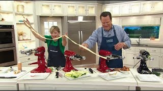 Download KitchenAid Sheet Cutter Stand Mixer Attachment on QVC Video
