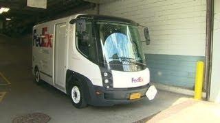 Download FedEx's electric truck challenge Video
