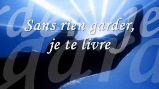 Download Entre tes mains j´abandonne Video