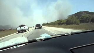 Download Driving through a Wildfire Video