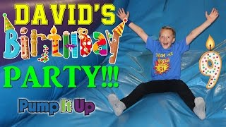 Download David's 9th Birthday Party!! Video