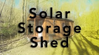 Download Solar Storage Shed Video