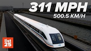 Download 25 Fastest Trains in the World You'll Miss if You Blink Video