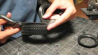 Download Making a hybrid scale tire Video