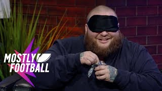 Download Action Bronson Plays ″Guess The Weed Strain″ With Martellus Bennett | Mostly Football Video