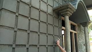 Download Front of house design| wall design | attractive decorations Video