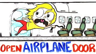 Download What If Your Airplane Door Burst Open Mid-Flight? Video