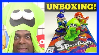 Download Splatoon AMIIBO Unboxing + Gameplay! [Wii U] | Lamarr Wilson Video