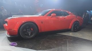 Download 2018 Dodge Challenger SRT Demon Review: First Impressions Video