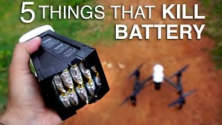 Download 5 Things that can Kill your DJI Battery Video