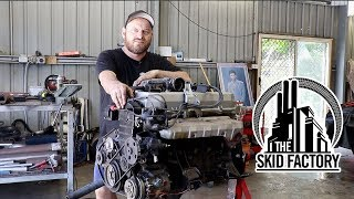 Download THE SKID FACTORY - RB30E+T Holden VL Commodore [EP2] Video
