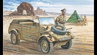 Download 1:35 Italeri VW Kübelwagen building review Video
