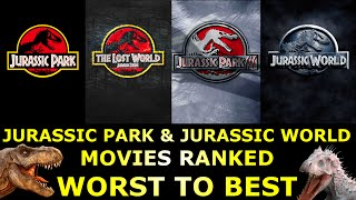 Download 4 Jurassic Park & Jurassic World Movies Ranked Worst to Best Video