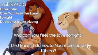 Download Elton John - Can You Feel The Love Tonight Deutsche Übersetzung Video