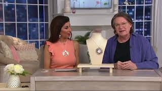 Download RLM Bronze Tri-Tone Orbital Pendant Necklace on QVC Video