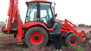 Download The Tractor Excavator broken down Ride on POWER WHEEL Plane Help   Excavator for kids Video