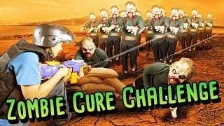 Download ZOMBIE VS SURVIVOR NERF WAR CHALLENGE! (Real Life Challenges) Video