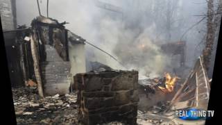 Download Apocalypse wildfire of Gatlinburg Tennessee as massive destroys homes and hotels Video