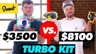Download $3,500 Single Turbo Kit vs. $8,100 Twin Turbo Kit | HiLow Video