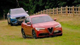 Download Alfa Romeo Stelvio vs Volvo XC60 | Top Gear: Series 25 Video