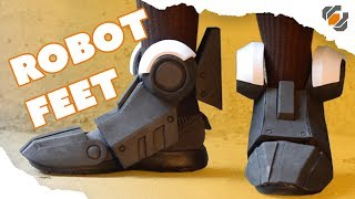 Download How to Make Robot Feet from EVA Foam - Destiny Sweeper Bot Build Video