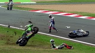 Download Best of Crash World Superbike Magny-Cours Video