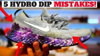 Download HYDRO DIPPING SHOES: 5 MISTAKES PEOPLE MAKE! Video