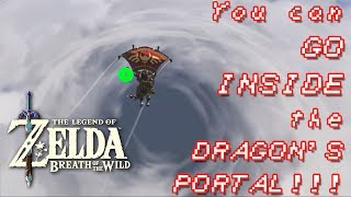Download 1st to FLY THROUGH the DRAGON'S PORTAL! || Zelda: Breath of the Wild~ Video