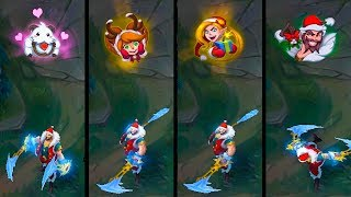 Download NEW SNOW DAY EMOTES 2017😂 - League of Legends Video