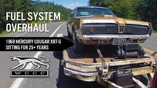 Download Fuel System Overhaul - ″Barn Find″ 1968 Cougar XR7-G Video