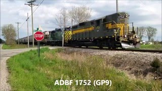 Download Chasing Highhood GP9's on the Adrian and Blissfield Railroad!!! Video