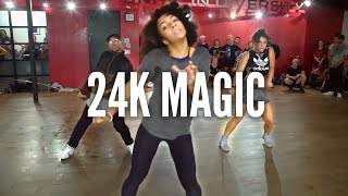 Download BRUNO MARS - 24K Magic | Kyle Hanagami Choreography Video